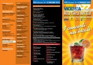 I concerti nei locali - Vicenza Jazz