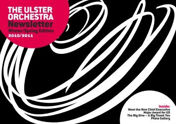 Newsletter - Ulster Orchestra