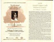 Dr. Edward C. Valandra - University of South Dakota