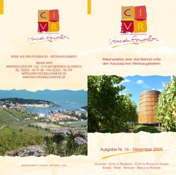 NEWSLETTER 16.QXD - Roussillon