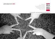 Jahresbericht 2009 - Stiftung Villa Erica