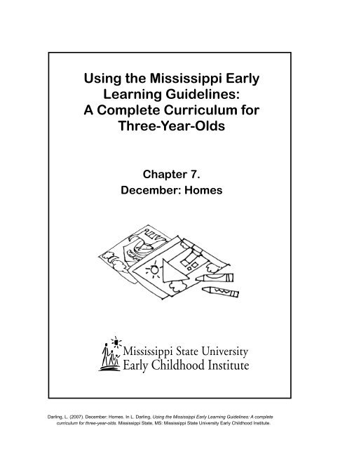 Using The Mississippi Early Learning Guidelines A Complete