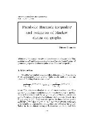 Parabolic Harnack inequality and estimates of Markov chains on ...