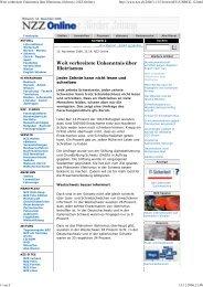 Weit verbreitete Unkenntnis über Illetrismus (Schweiz, NZZ On...