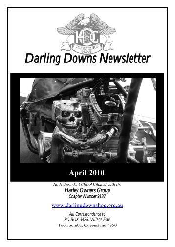 Darling Downs Newsletter - Darling Downs HOG