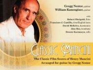Download Classic Mancini CD Full-Color Digital Booklet
