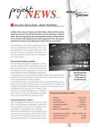 Innovative Haustechnik – ideales Wohnklima - Stokar+Partner AG