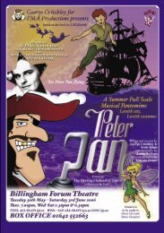 Peter Pan.indd - PMA Productions