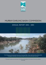 2002-03 Annual Report - Murray-Darling Basin Authority