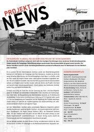 PROJEKT NEWS - Stokar+Partner AG