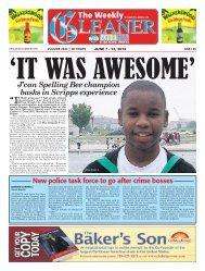 Jun 07 - 13, 2012 - Jamaica Gleaner