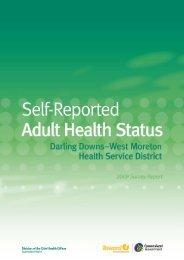 Darling Downs – West Moreton Health Service District 2009 Survey ...