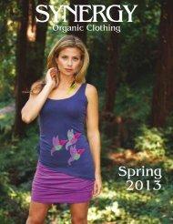 Spring 2013 - Synergy Clothing
