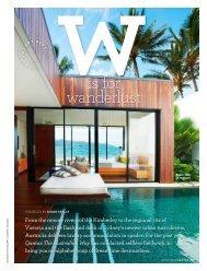 Luxury Accommodation - The Australian Way April 2013 - Qantas