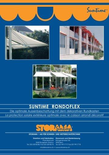 SUNTIME RONDOFLEX - Storama