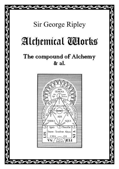 The compound of Alchemy