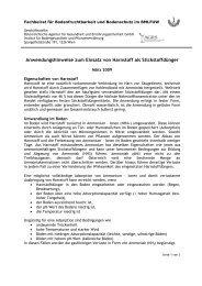 Anwendungshinweise zum Einsatz von Harnstoff als ... - AGES