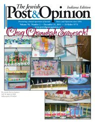 The Jewish Post & Opinion