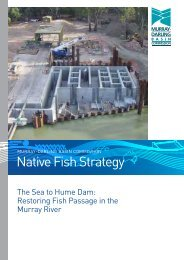 What is a fishway? - Murray-Darling Basin Commission