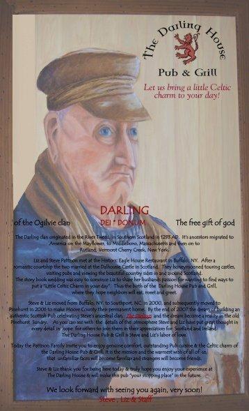 Click here to view/print Menu - Darling House Pub