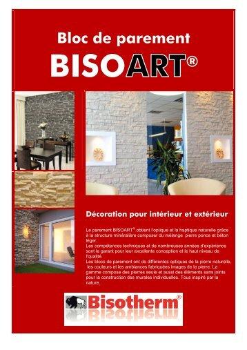Bloc de parement ® - Bisotherm