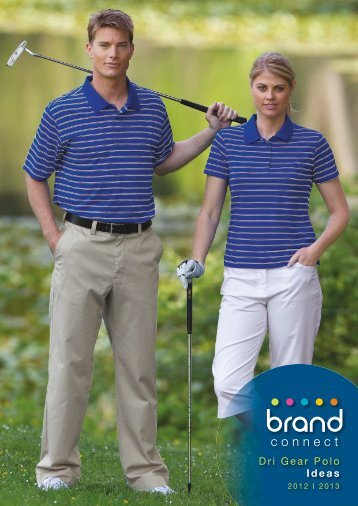 Dri Gear Polo Ideas catalogue - Promotional Products