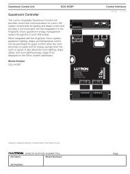 EcoSystem H-Series Reduced Wattage Ballasts Overview - Lutron