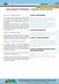 reglement interieur / general regulation - Fabrica de bani - Page 5