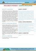 reglement interieur / general regulation - Fabrica de bani - Page 7