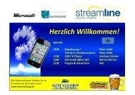 MS Sharepoint IT - Streamline AG