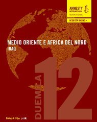Rapporto annuale 2012 - Rapporto annuale - Amnesty International