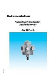 Dokumentation - Pilotgesteuerte Druckregler - Standard ... - Atlas 7