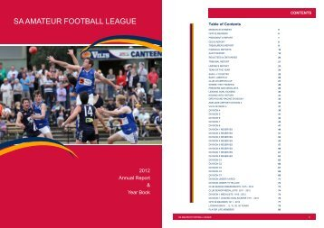 2012 Annual Report & Year Book - saafl