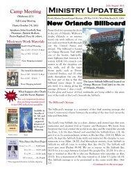 July-August 2011 - The Eternal Gospel Church