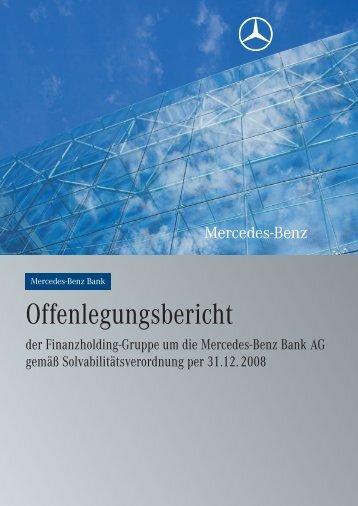der Finanzholding-Gruppe um die Mercedes-Benz Bank