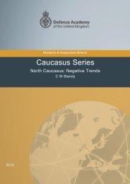 North Caucasus: Negative Trends (PDF) - Internal Displacement ...