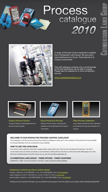 CLG Process Catalogue - Cuthbertson Laird Group
