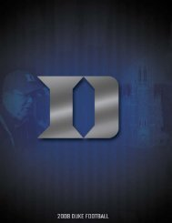 080770 DukeFB Cover - College Football Dvds-Media Guides Project