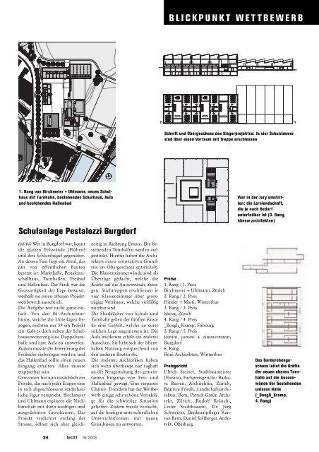 BLICKPUNKT WETTBEWERB - Studer Simeon Bettler