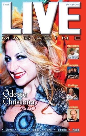 LIVE Magazine Vol 6, #153, April5, 2013
