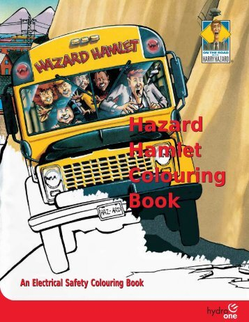 Hazard Hamlet Colouring Book - Hydro One