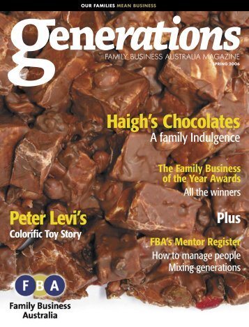 Generations - Family Business Australia