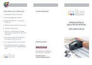Kundeninfo-Flyer für Druckereien als Print-PDF laden - Mellow Colour
