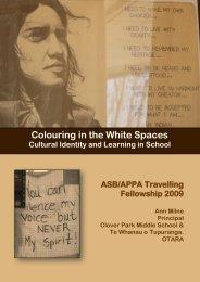 to read Colouring in the white spaces - Tangata Whenua.com