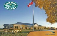 2011 Annual Report - Lanark Mutual Insurance