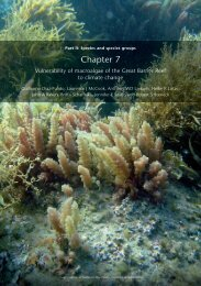 Chapter 7 - Great Barrier Reef Marine Park Authority