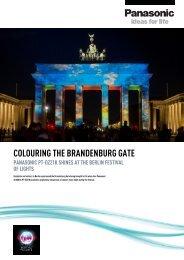 COLOURING THE BRANDENBURG GATE - Panasonic