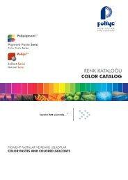 Polipigment Catalog pro v03.cdr - Poliya Poliester