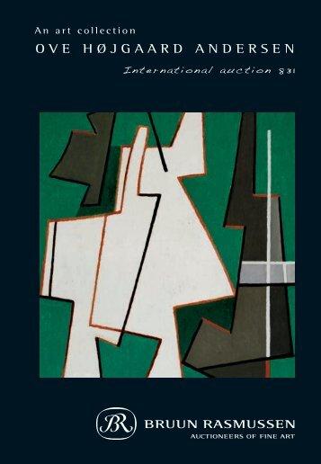 Ove Højgaard Andersen – an art collection - Bruun Rasmussen