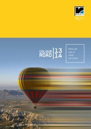 Colour Road Broschüre 2013 - Renolit